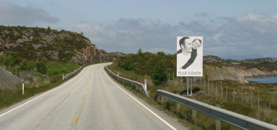 """Buckle Up"" Norway. The Norwegian Road Safety Campaign."